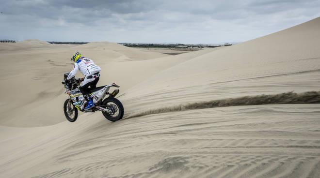 jjacopo cerutti prima tappa della dakar 2019 dune perù