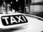 taxi milanesi generico insegna taxi per lutto collega morto