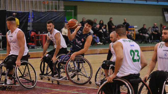 unipolsai briantea vince contro santo stefano basket carrozzina a1 maschile
