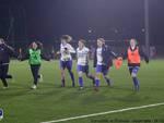 como 2000 batte la riozzese coppa italia calcio serie c festa ragazze lambrone