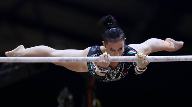 martina rizzelli in finale parallele a melbourne world cup
