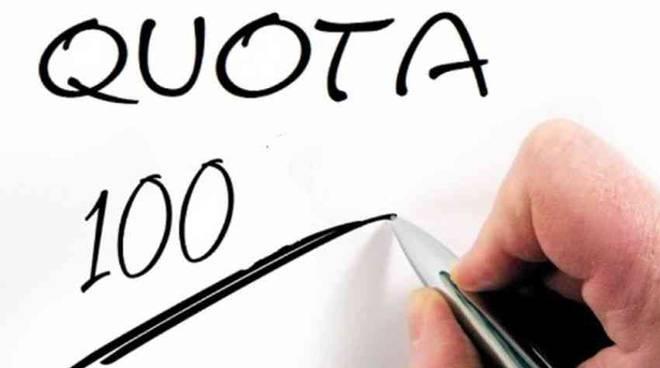 quota 100 per andare in pensione logo ufficiale del ministero