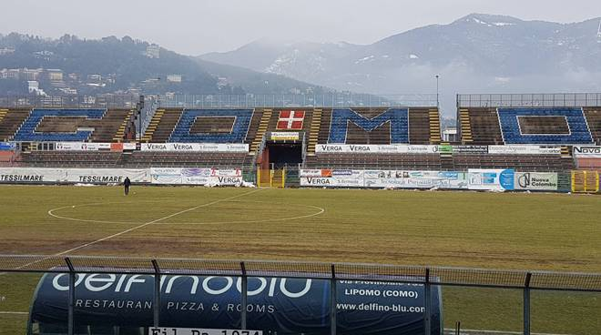 stadio sinigaglia senza neve prima di como - villa d'almè