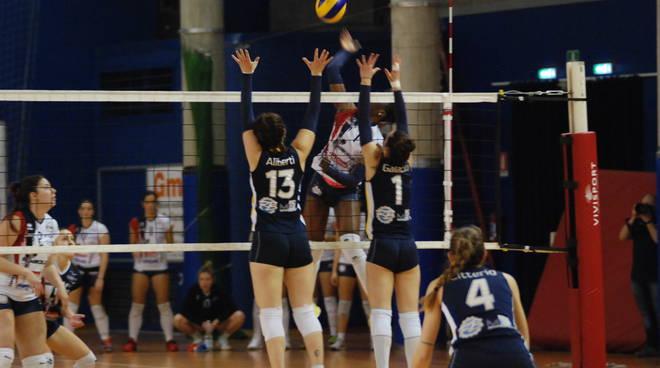 tecnoteam albese sconfitta a vigevano contro florens volley b1 donne