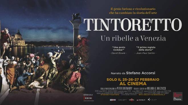 Tintoretto. Un ribelle a Venezia al cinema il 25, 26, 27 febbraio