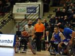 unipolsai basket carrozzina gara in casa contro Sassari