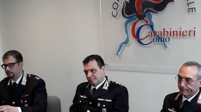 arresto educatrice cernobbio asilo nido conferenza stampa carabinieri como