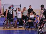 basket carrozzina unipolsai briantea quarti finale in germania con Besiktas