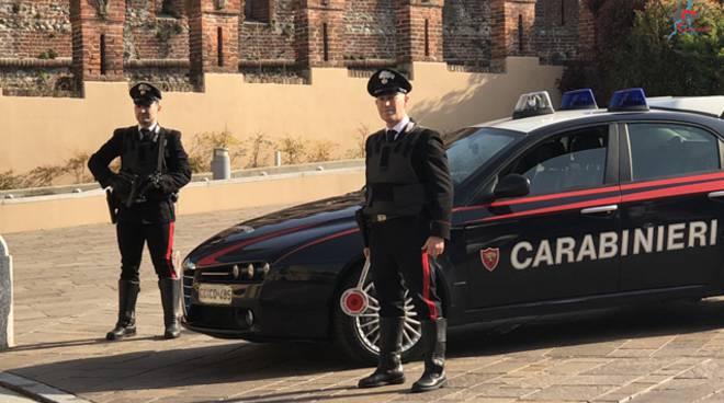 carabinieri estewrno di villa odescalchi di alzate brianza per furto