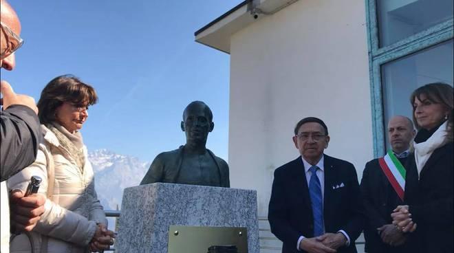 museo del ciclismo ghisallo cerimonia intitolazione del busto per fiorenzo magni