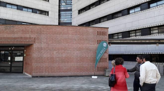 open day università Insubria di como visita del sindaco