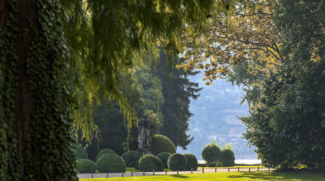 parco villa erba