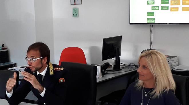 presentazuione dati polizia locale como attività 2018 ghezzo e negretti