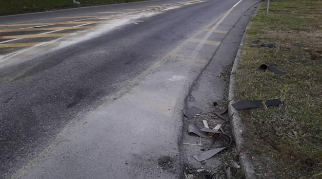 Riapertura stamane viadotto dei lavatoi dopo gasolio perso ieri sera da tir
