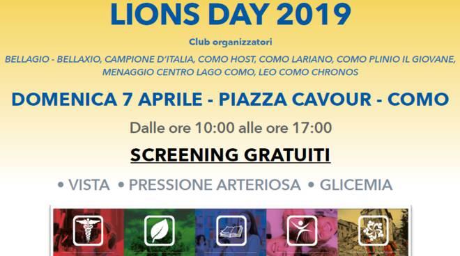 angela bracuto lions como per presentare domenica di controlli in piazza cavour como