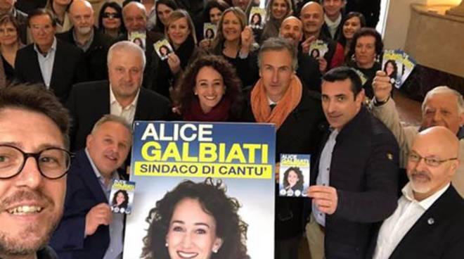 cantù elezioni amministrative presentazione alice galbiati come candidata centrodestra
