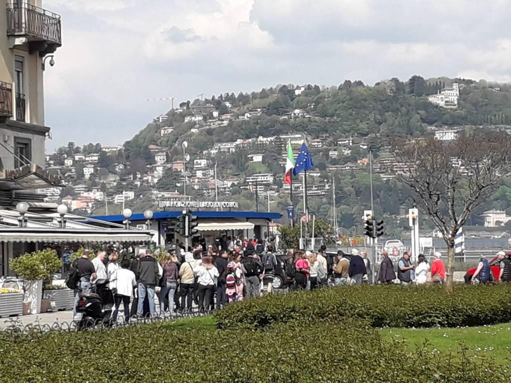 Como si riempie per la Pasqua 2018: turisti e pienone ovunque