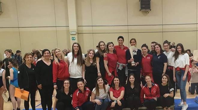 gara sociale polisportiva Fino Mornasco allenatrici e atlete
