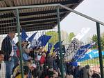 il como vince a villafranca veronese immagini esultanza tifosi gara