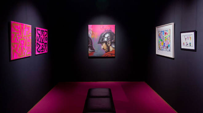 into the pink mostra
