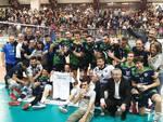 pool libertas volley maschile di a2 semifinale play off contro Bergamo al parini