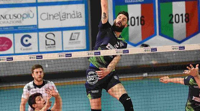 pool libertas volley maschile di a2 semifinale play off contro Bergamo al parini