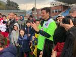 Quadrangolare della solidarietà stadio Sinigaglia di Como con i grandi campioni