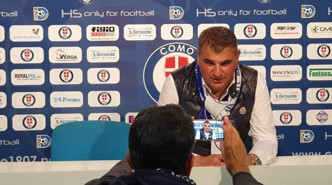 Roberto felleca como felice per promozione del como immagini stadio simigaglia