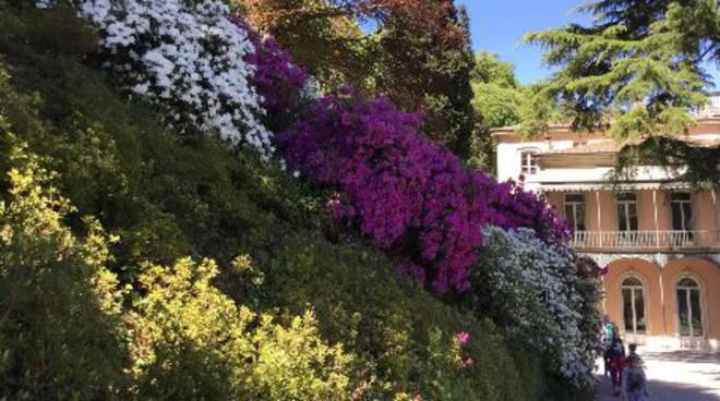 villa del grumello giardino