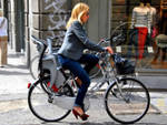 comaschi in bicicletta