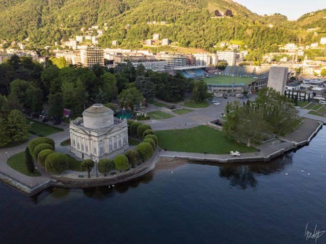 Con il drone sul cielo di Como all'alba: una città meravigliosa concessione