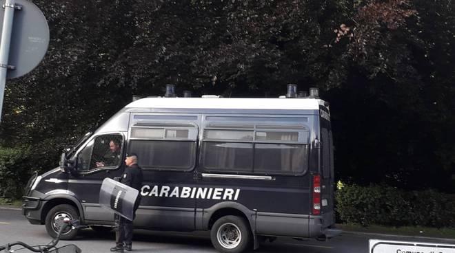 derby como lecco agenti di servizio polizia e carabinieri servizio controllo