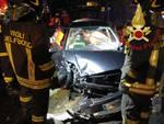 incidente auto frontale guanzate via roma