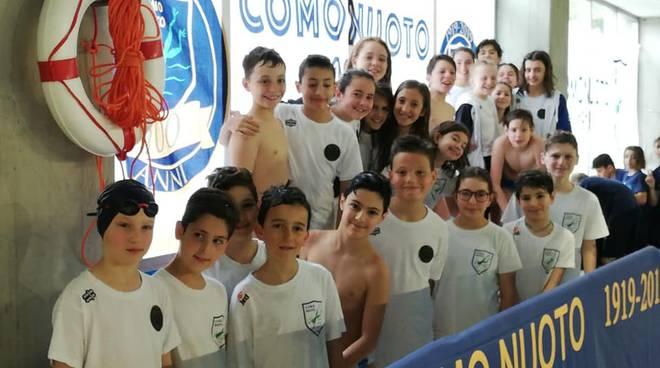 Meeting di nuoto Città di Como, i protagonisti alla piscina di Muggiò