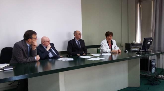 sopralluogo ospedale di cantù direzione sanitaria e conferenza stampa presentazione progetti