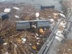 vento forte e danni all'hangar di como pontile affondato dalle raffiche