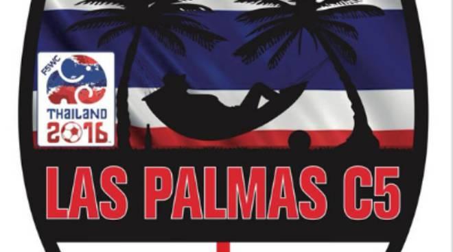 calcio a 5 las palmas logo e foto della formazione
