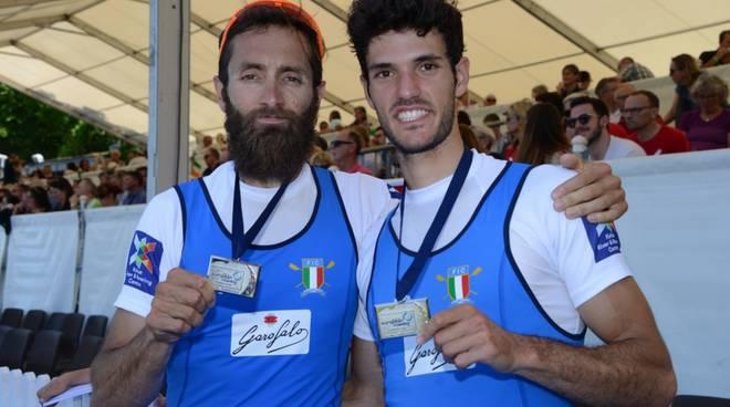 campionati europei canottaggio i comaschi che vincono: ruta, mondelli e rocek