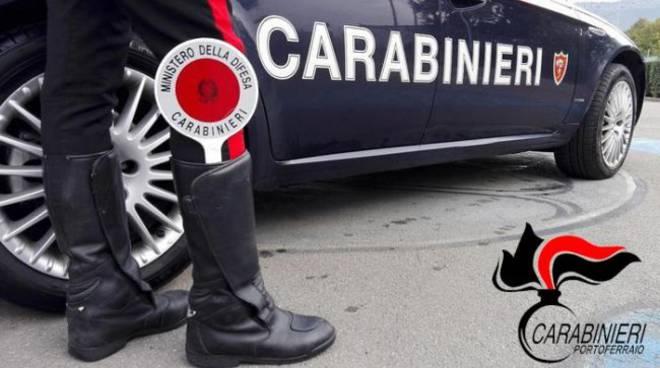 carabinieri di portoferraio isola d'elba esterno caserma