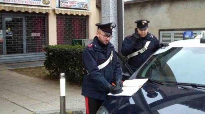 carabinieri spaccio di droga zona di cantù asnago