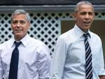 clooney ed obama assieme a laglio foto facebook