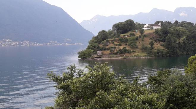 isola comacina generica per sagra di san giovanni 2019