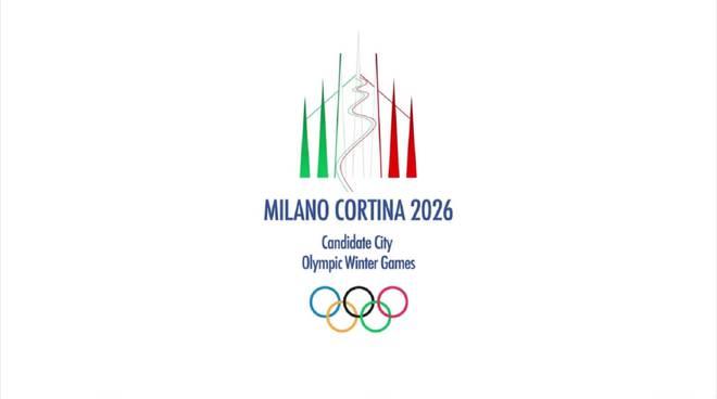 logo ufficiale olimpiadi milano cortina
