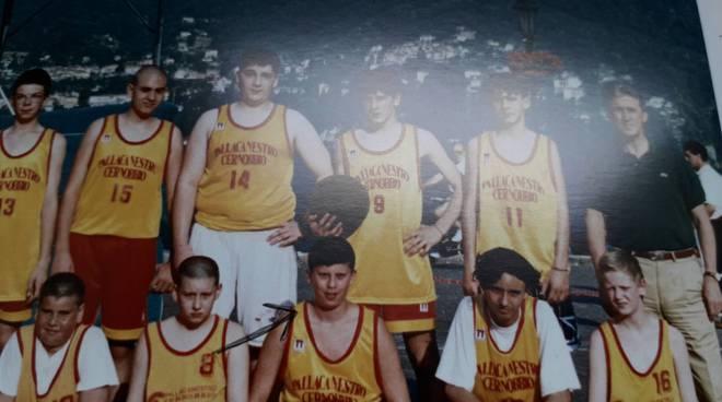 matteo monti sindaco cernobbio quando giocava a basket anni fa