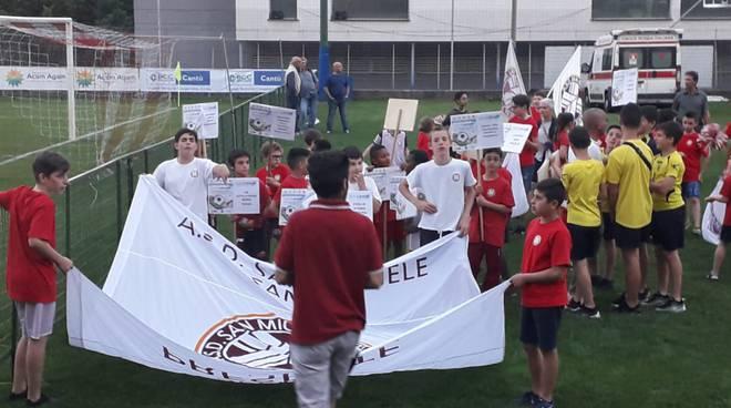 trofeo san bernardo cantù sfilata partecipanti e campo via andina