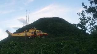 turista australiano annegato fiume sopra gravedona soccorsi elicottero e soccorso alpino