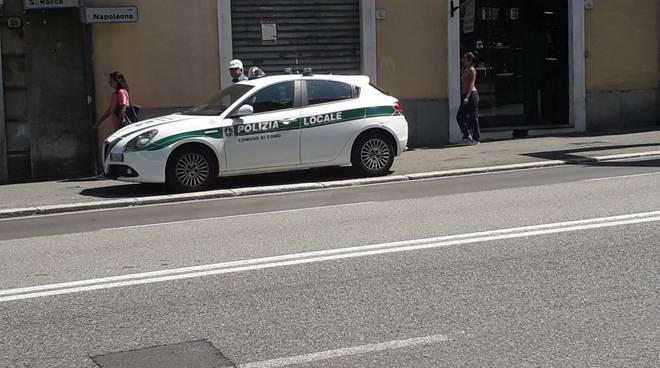 autovelox a como in napoleona polizia locale controlli