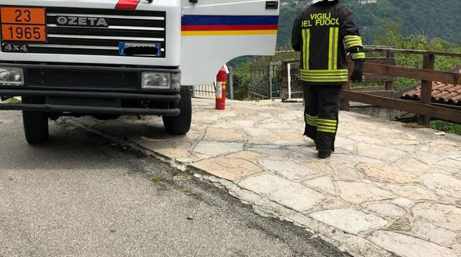 esplosione gravedona agriturismo la sorgente durante rifornimento gpl mezzo e pompieri