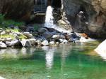 fiume dangri a livo angolo di paradiso in provincia di como