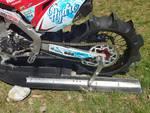 luca colombo moto per record mondiale di velocità sul lago pattini moto